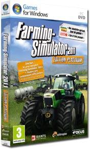 vente de l'année 2011 en jeux vidéo PC est Farming Simulator
