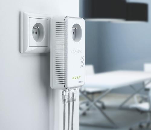 Devolo aussi apporte le wifi dans toutes les pi ces de la for Avoir le wifi dans toute la maison
