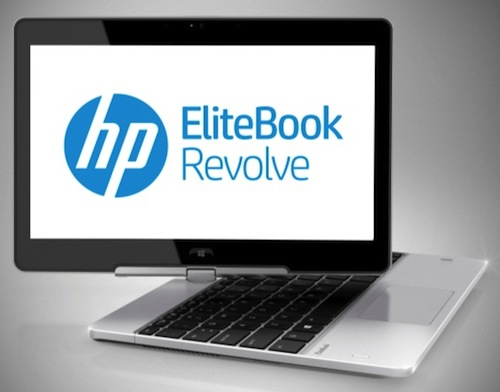 hp elitebook revolve un pc portable de 11 6 pouces avec cran tactile pivotant. Black Bedroom Furniture Sets. Home Design Ideas