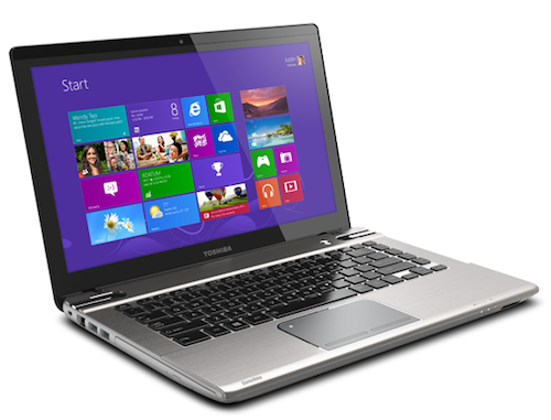 toshiba satellite p845t un pc portable tactile accessible. Black Bedroom Furniture Sets. Home Design Ideas