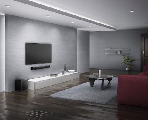 onkyo envision cinema 3 barres de son bluetooth pour. Black Bedroom Furniture Sets. Home Design Ideas
