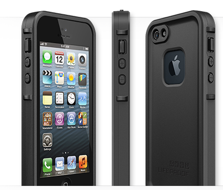 lifeproof n d une coque anti casse screenless pour iphone 5 et galaxy siii. Black Bedroom Furniture Sets. Home Design Ideas