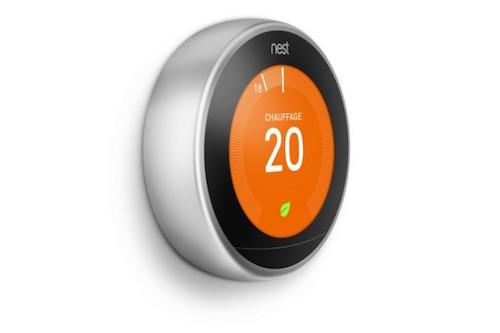 Nest rend encore plus intelligent son thermostat connect - Thermostat connecte nest ...