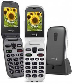doro 6030 un mobile clapet pour rassurer les seniors. Black Bedroom Furniture Sets. Home Design Ideas