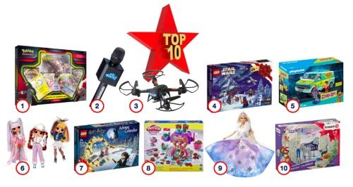 JouéClub présente son Top 10 des ventes de Noël